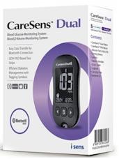 CareSens Dual Bloedglucose en Ketonen meter. Startpakket