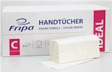 Papieren handdoekjes wit tissue 2-Laags C-gevouwen