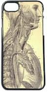 Telefoonhoesje Vintage afbeelding Anatomie van de Mens