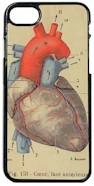 Telefoonhoesje Vintage afbeelding van het Hart