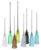 Injectienaald 0,90x70mm Geel (100 st.)