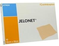 Jelonet vetgaaskompres 10x10 (10 st.)
