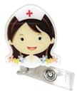 Badgehouder Flower nurse