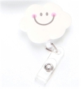 Badgehouder Smiley cloud