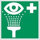 Oogdouche Pictogram Sticker