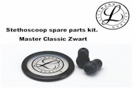 Littmann Stethoscoop spare parts kit, Master Classic zwart