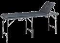 Massage/onderzoeksbank koffermodel. 56cm breed