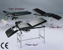 Titan Gyn onderzoekbank