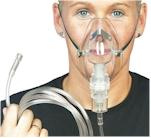 Patiënten masker compleet met vernevelaar voor kinderen. Per stuk